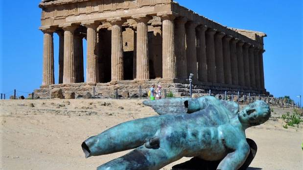 While in Sicily we visited the valley of the temples in Agrigento which is the largest archeological sight in the world. ...