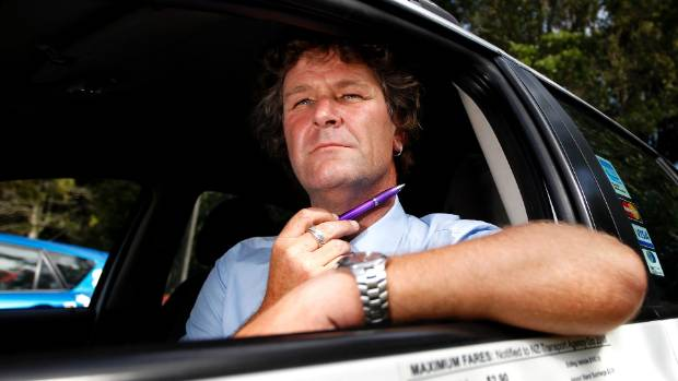 Alan Cooper, a New Plymouth Taxi driver, survived the incident in 2013 when Keegan Jones pulled a knife on him. Jones ...