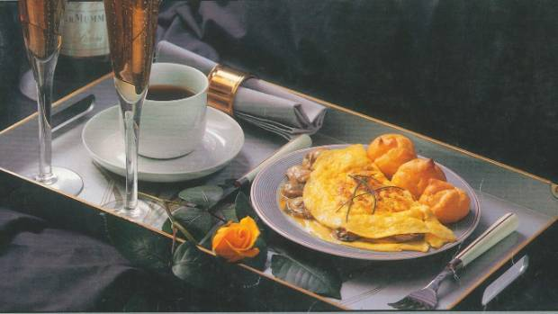 The breakfast of champions: a Cuisine cover image from 1987.