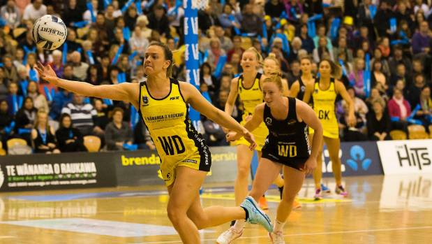 Pulse wing defence Claire Kersten was one of the stars of the team's drive to this year's final.