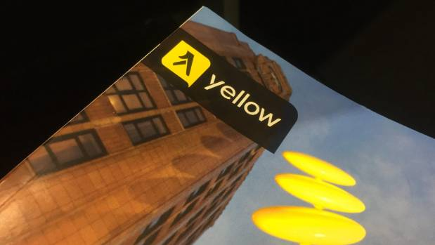 Printed directories accounted for $56m of Yellow's total revenues of $94.5m in the year to June.