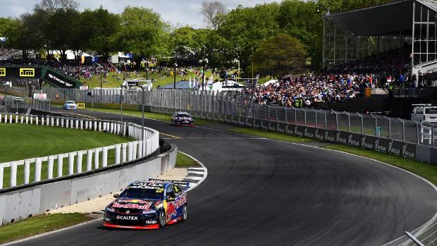 The drivers love Pukekohe Park, but the track does need resurfacing.