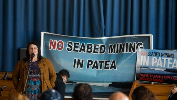 The decision to mine iron ore from the seabed was met with hesitance from the residents of Patea.