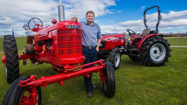 Red Brand New Farmall Tractors : Winning story formula about tractor strikes gold stuff nz
