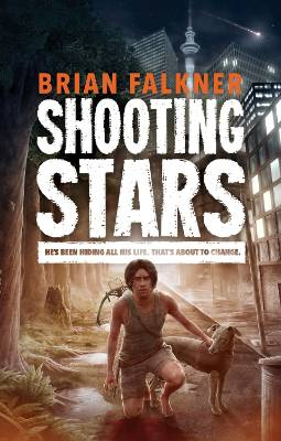 Shooting Stars, by Brian Falkner: 2017 Copyright Licensing NZ Award For Young Adult Fiction finalist.