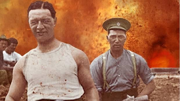 Kiwis at War: 1916 - Dig For Victory by David Hair.