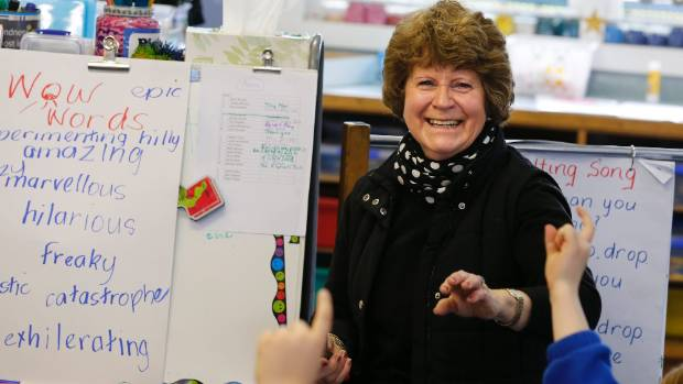 Albury School principal release Di Anderson was surprised to learn she had won the regional Stuff Favourite Teacher award.