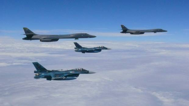 North Korea 'destroys' USA military planes and carrier in propaganda videos
