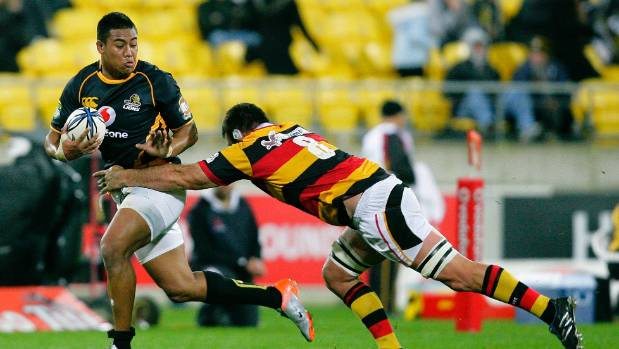 Julian Savea in action for Wellington, back in his debut provincial season of 2010.