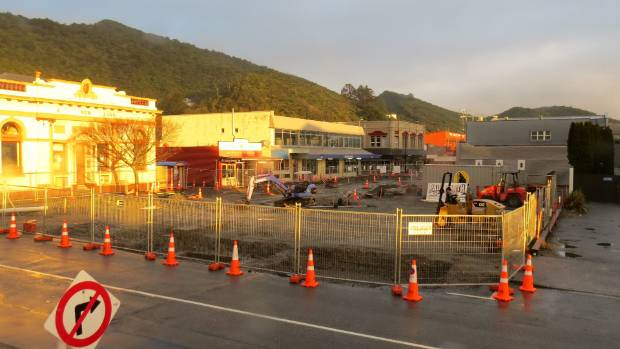 Work on phase one of the Greymouth Town Square and Tainui shared street project is expected to be finished in October.