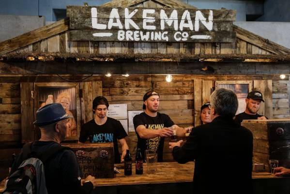 Lakeman Brewing Company at Beervana 2017.