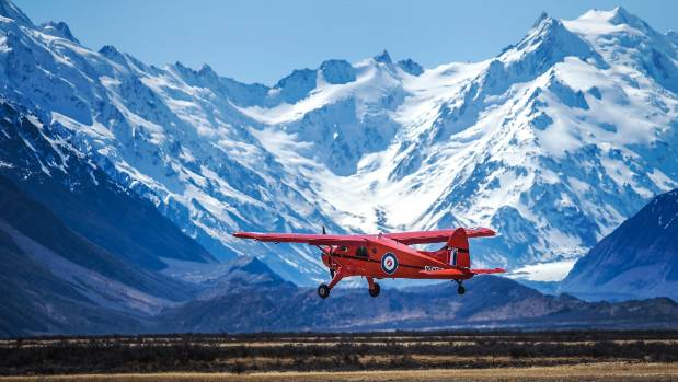 A campfire near Mt Cook Airport, pictured, spread after being fanned by strong winds. (FILE PHOTO)