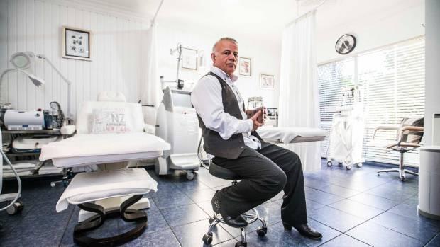 Mehdi Jaffari offers leech therapy from suburban Birkenhead, in north Auckland.