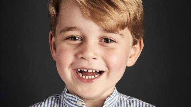 Prince George gets ready for his first day of school