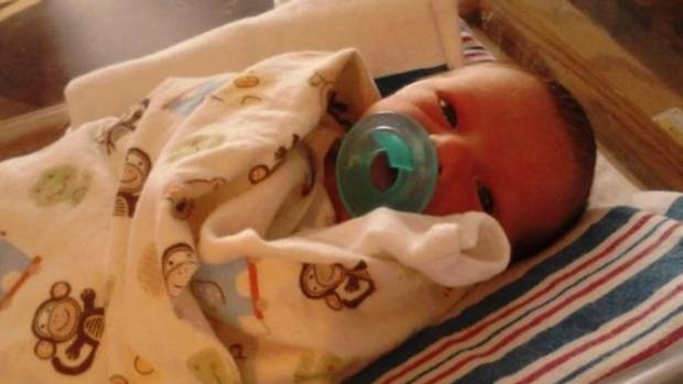 Jacob Thompson was four days old when he died