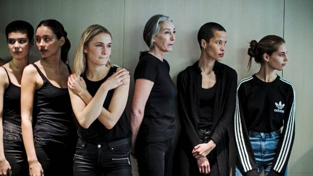 Models walk to strut their stuff at the casting of New Zealand's Fashion Week.