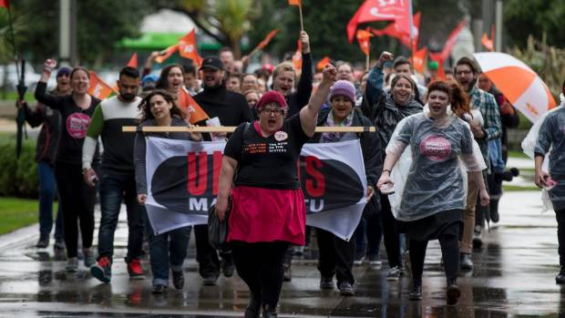 Pay Equity Palmerston North was launched on Saturday, with a protest for equal pay for women, fronted by local convener ...