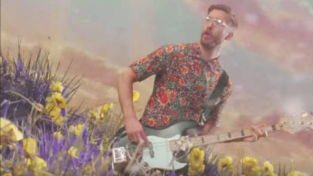 Calvin Harris is feeling his way to the top. From a clip from his latest video, Feels.