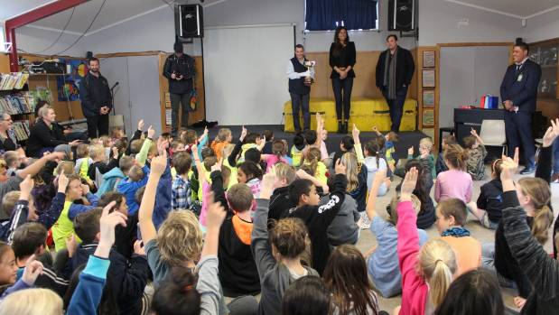 The Melbourne Cup was a big hit with pupils of Walton School in the Waikato.