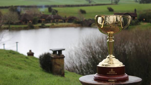 One cup to rule them all? The Melbourne Cup at Hobbiton, as part of its tour in the Waikato.