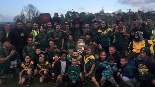 Taniwharau were crowned Waikato club rugby league champions after beating the Hamilton City Tigers in the grand final in ...