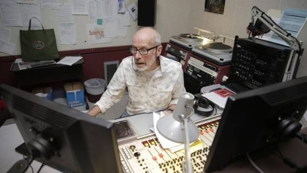Lloyd Scott started in radio at the age of 21 and began the graveyard shift in 2004.