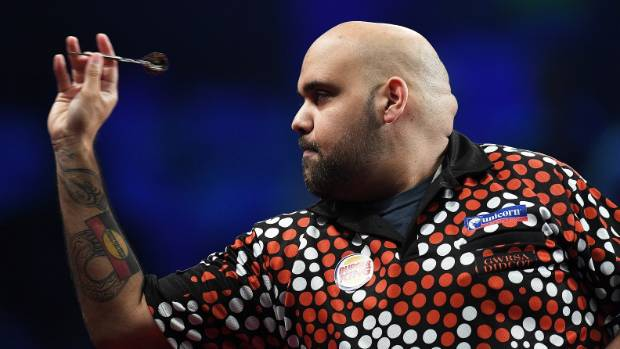 Kyle Anderson backs up with upset over Gary Anderson by beating fellow Aussie Simon Whitlock.