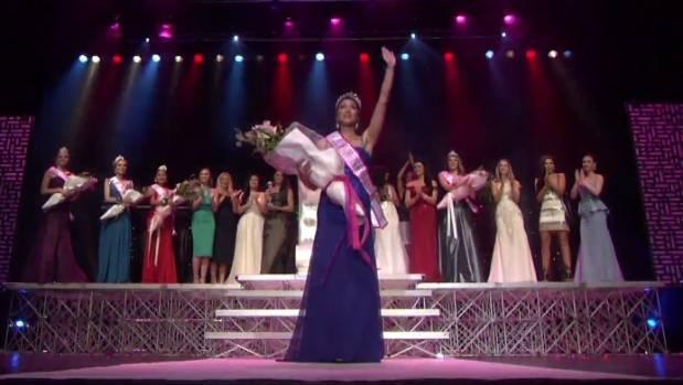 Harlem-Cruz Atarangi Ihaia, from Napier, won Miss Universe New Zealand 2017 on Saturday night.