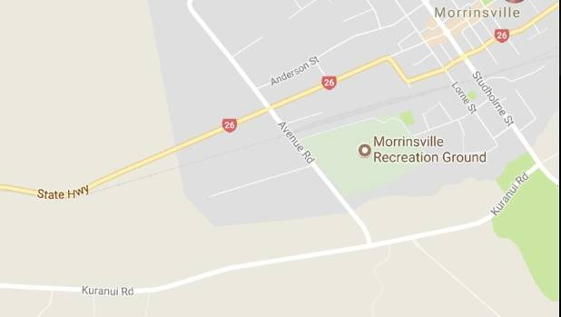 Cordons are in place near Morrinsville while the Armed Offenders Squad and a police helicopter patrol the area.