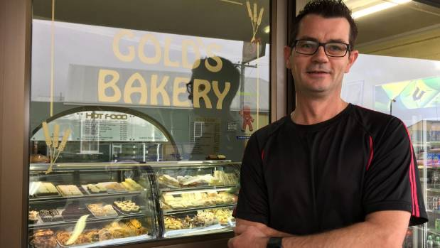 Gold's Bakery Balclutha owner-operator Richard Findlay.