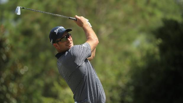 An even par round of 71 left Ryan Fox tied for 12th with one round remaining at the PGA Championship.