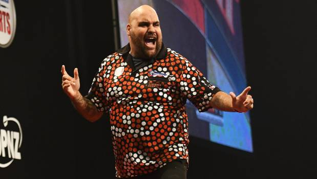 Kyle Anderson held his nerve to beat fellow Australian Corey Cadby 11-10 in the Auckland darts final.