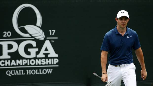 Stroud 1 stroke off lead at PGA Championship class=