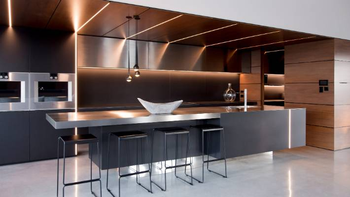 Supreme kitchen award goes to sleek, minimalist design by ...