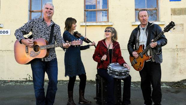 Hobnail heads out on their national tour in support of their new album Blue Sky Songs.From left Rob Joass, Jo Moir, ...