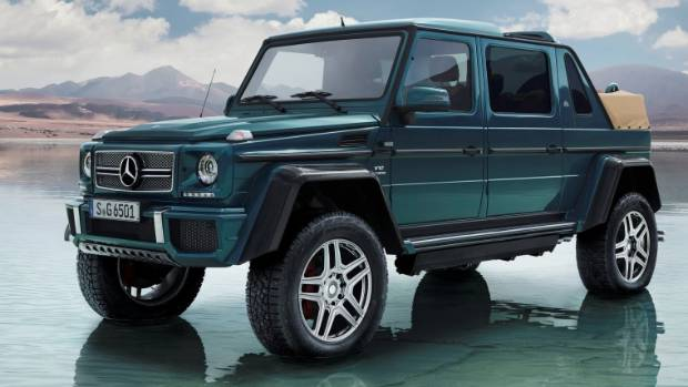 Mercedes-Maybach G 650 Landaulet is the ultimate in G-wagen luxury. If that needs to be a thing.