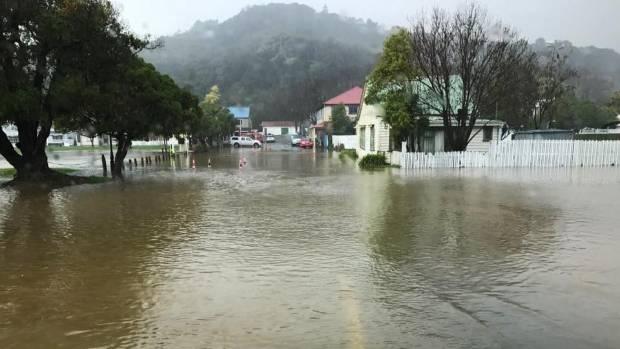 Flooding in Akaroa