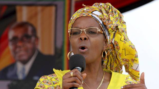 South Africa mulls fate of Mugabe's wife after assault claim