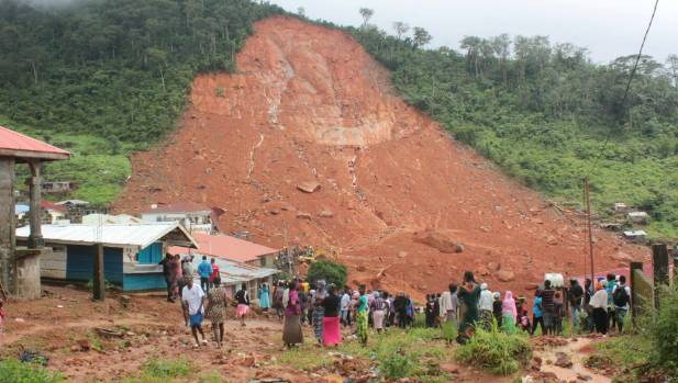 Sierra Leone declares 7-day mourning for mudslide victims