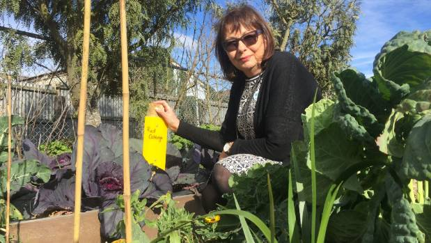 Catherine Bell, founder of Garden to Table, says the Root to Tip initiative encourages children to use vegetables ...