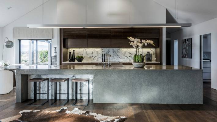 Raw' Materials And A Huge Scullery Add Wow Factor To Awardwinning Fascinating Award Winning Kitchen Design