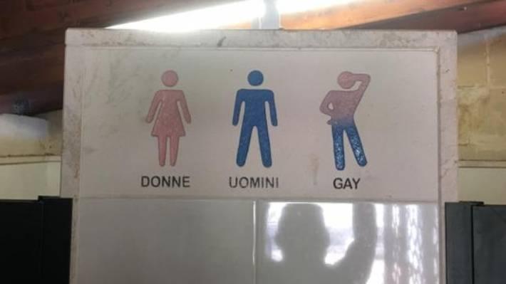 Gay toilets uk