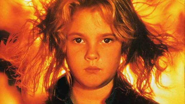 Firestarter was the first movie Drew Barrymore made after E.T.