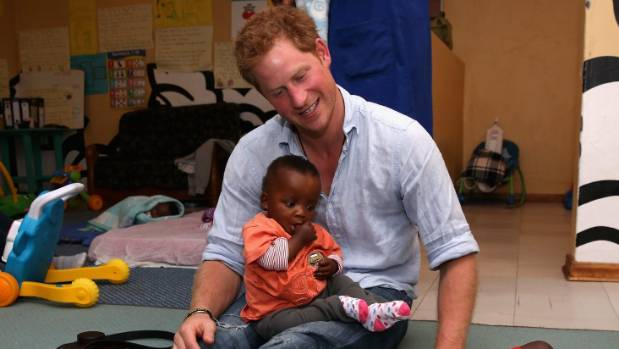 Prince Harry visits an organisation supported by his charity Sentebale.