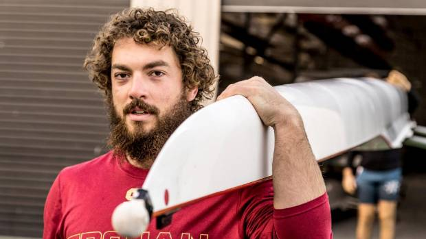 Isaac Giesen, 24, will set off on December 12 to row the over 3000 nautical mile-stretch of ocean between the Canary ...