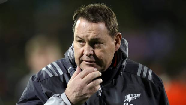 All Blacks coach Steve Hansen didn't feel the need to fire up at his team at halftime in Dunedin on Saturday.