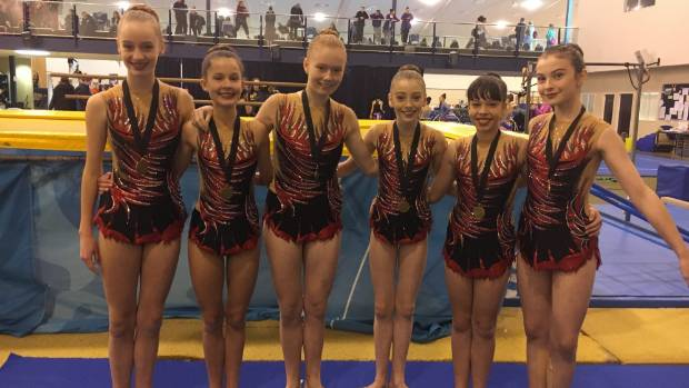 Wentworth gymnasts take out secondary school competition