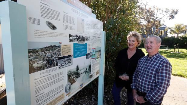 Monaco memories preserved in Foster Reserve story board
