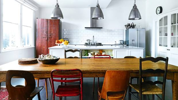 Derek West and Tracy Watkins love the fact that the kitchen is now the heart of their renovated Lower Hutt home.