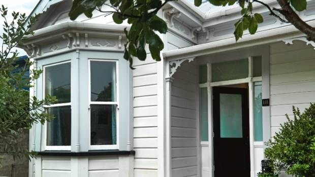 The couple enjoy their spot in what they call the great village vibe of Petone.